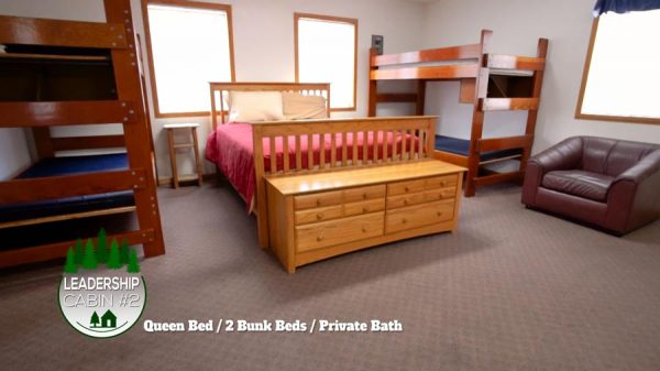 bed with drawers and bunk beds