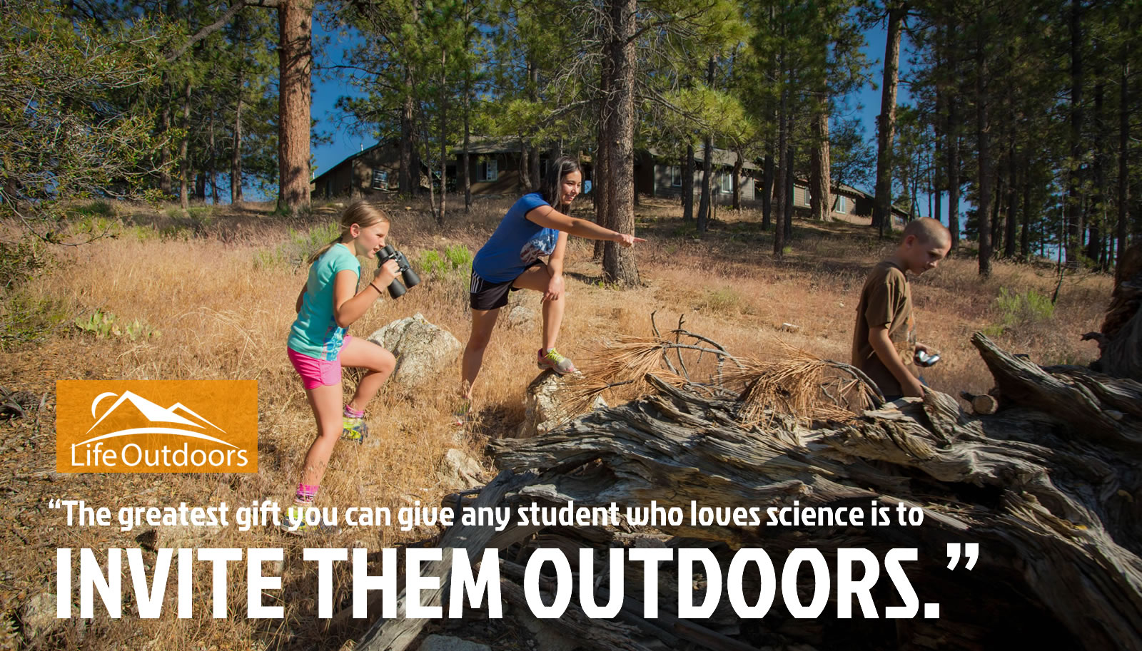 Outdoor Education Science Camp at Angeles Crest