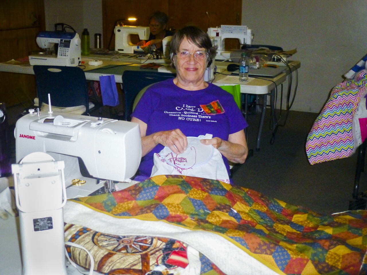 quilting embroidery