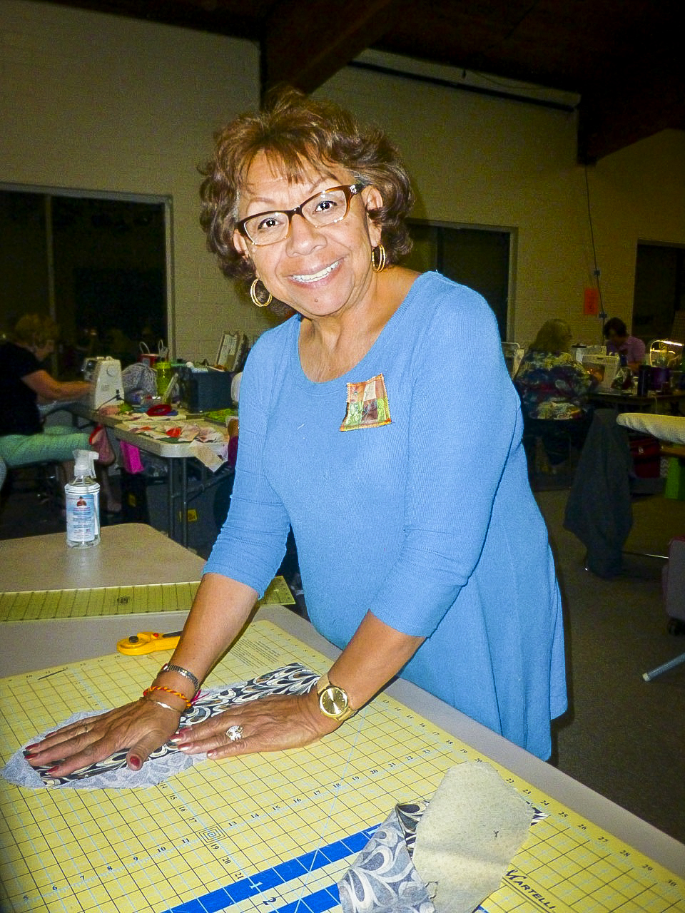 measuring quilting