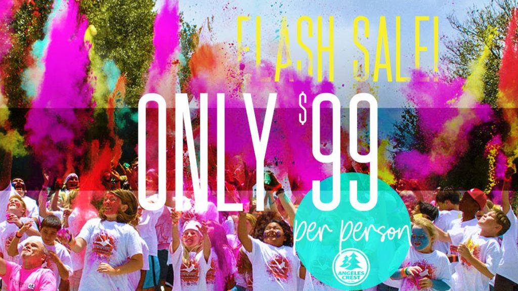 Angeles Crest Guest Group Flash Sale