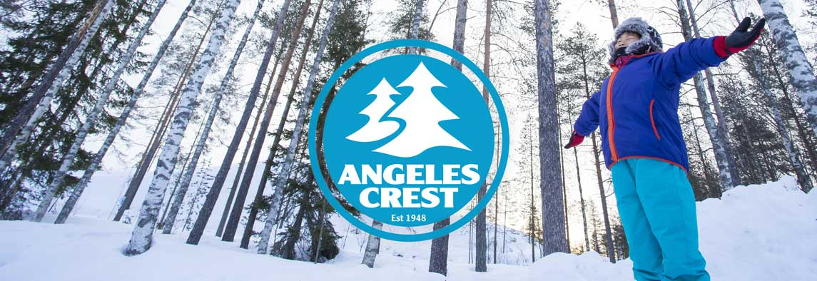 winter camp at angeles crest