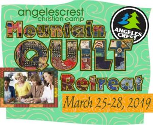 quilt retreat angeles crest 2019