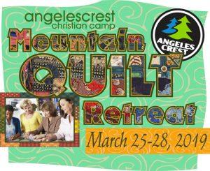 quilt retreat angeles crest 2019