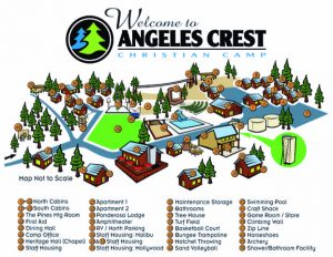 angeles crest site map