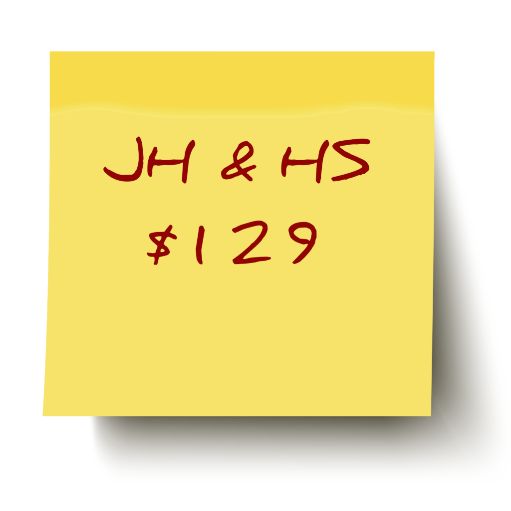 Father Son Retreat JH & HS $129