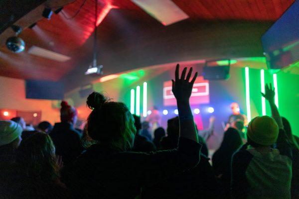 winter camp worship