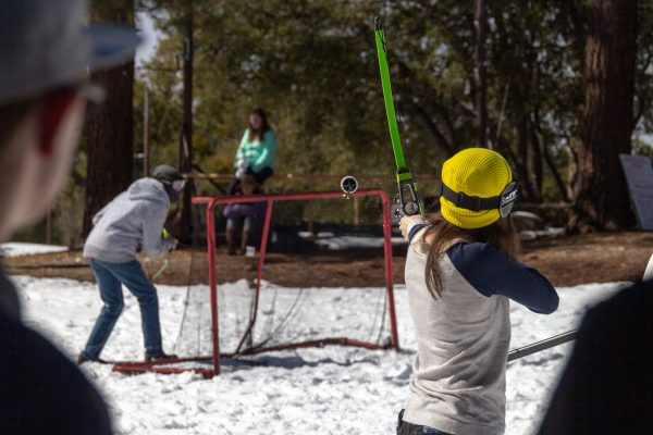 winter camp archery