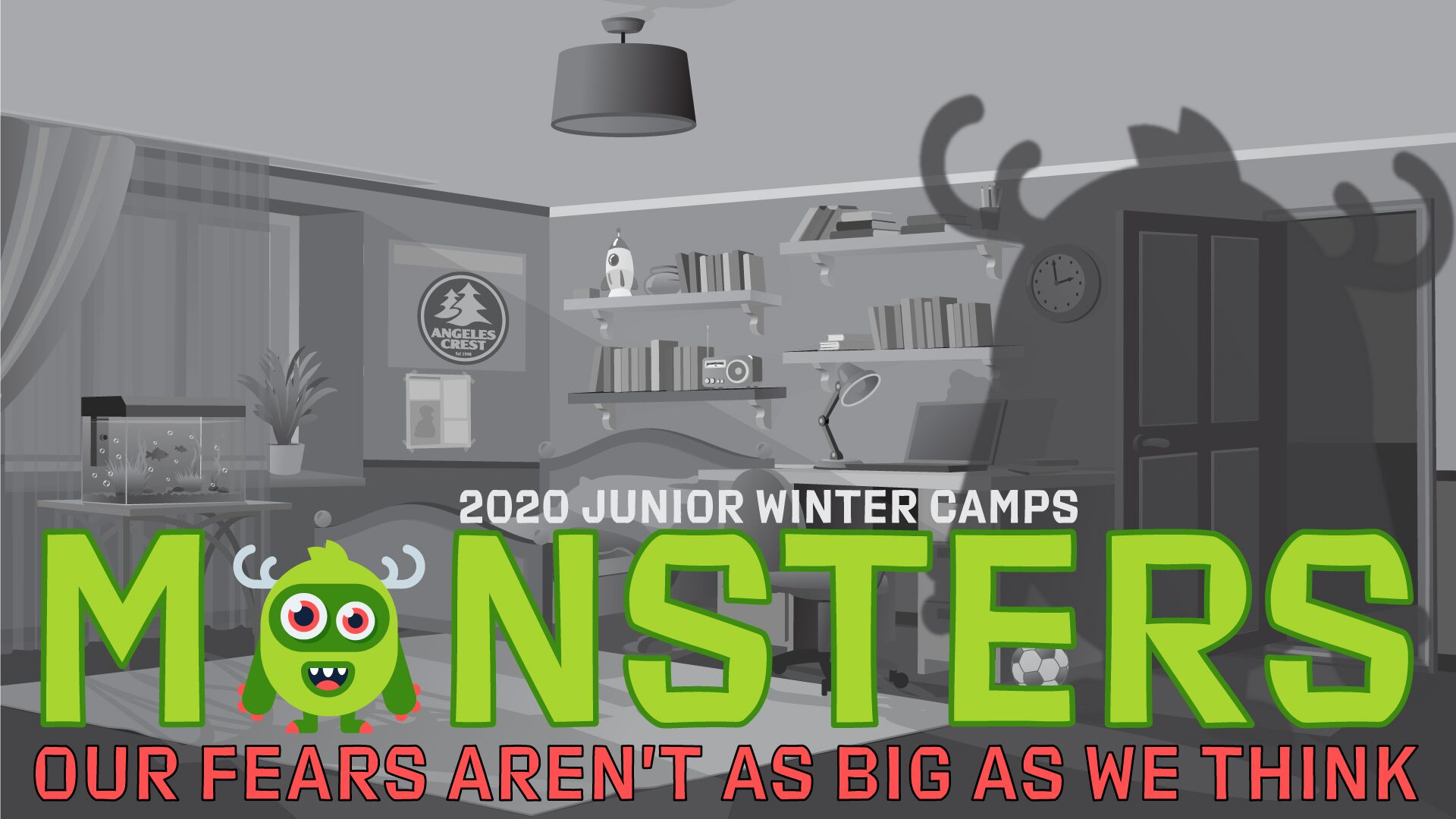 monsters winter camp angeles crest