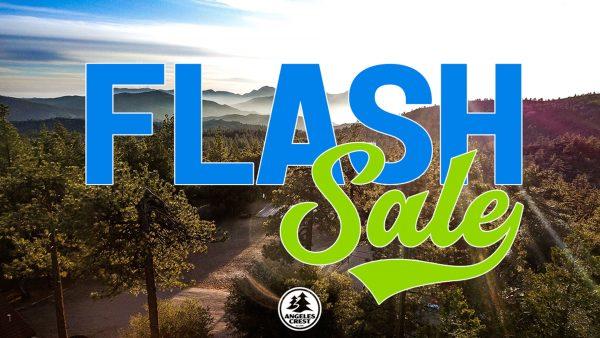 flash sale angeles crest words