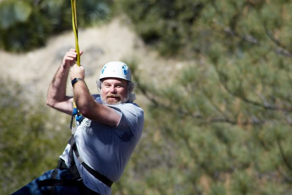 zipline man camp angeles crest