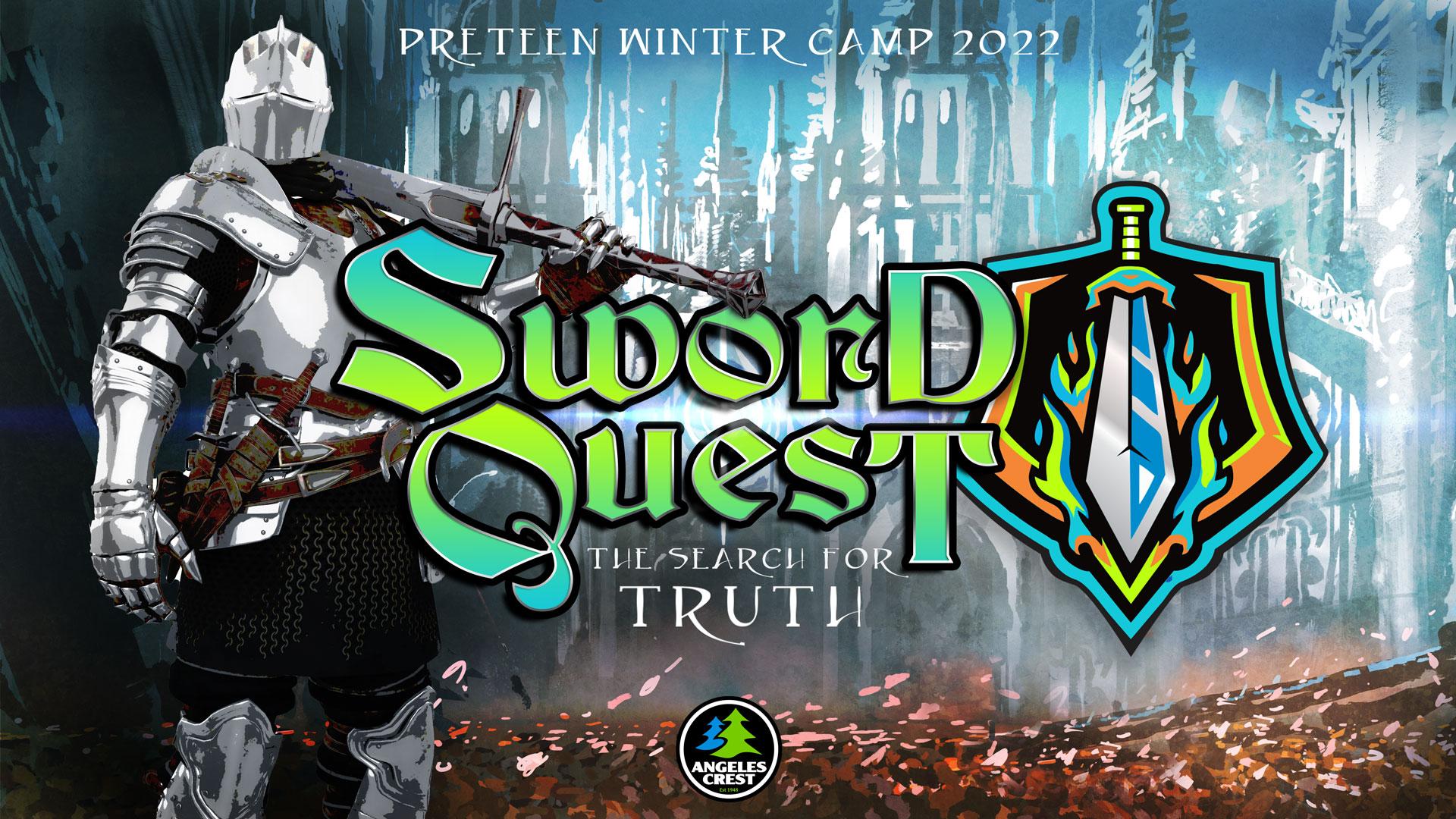Angeles Crest Preteen Winter Theme - Sword Quest